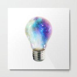 Light up your galaxy Metal Print