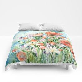 P o p p y  S k y Comforters