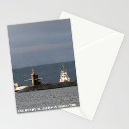 USS HENRY M. JACKSON (SSBN-730) Stationery Cards
