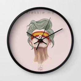 Trekkie Me Wall Clock