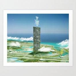 Worlds Fair 2083 Art Print