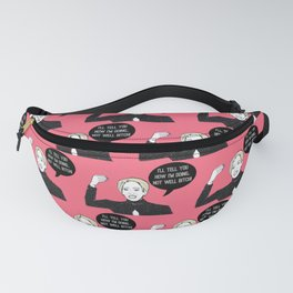 Not Well Fanny Pack