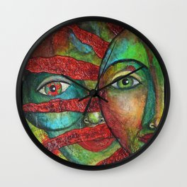 Facing the Sun 2 Wall Clock