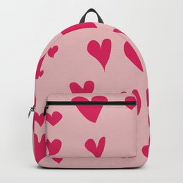 Imperfect Hearts - Pink/Pink Backpack