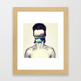 Insurgent Bowie Framed Art Print