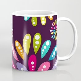 Mum Pop Plum Coffee Mug