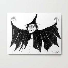 Witch dress up Metal Print