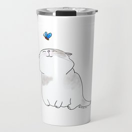 Play with me, Butterfly. Travel Mug