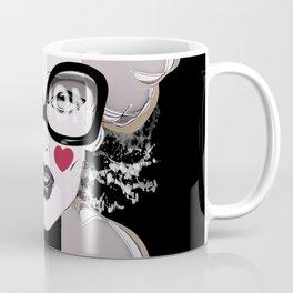 LOVE SPLASH Girl Portrait First Sight Feelings Coffee Mug