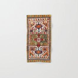 Kazak Antique Southwest Caucasus Rug Print Hand & Bath Towel