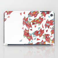 triangles iPad Cases featuring triangles by Matthew Taylor Wilson