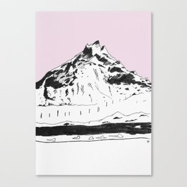 a mountain Canvas Print