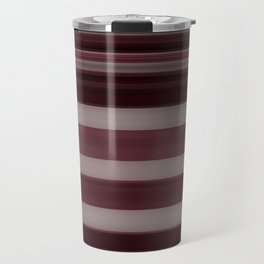 Plum Stripe Travel Mug