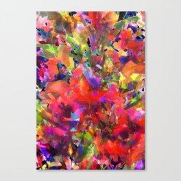 Summer Garden Glow Canvas Print