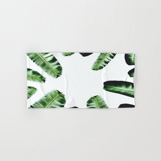 Botanical Banana leaf Hand & Bath Towel