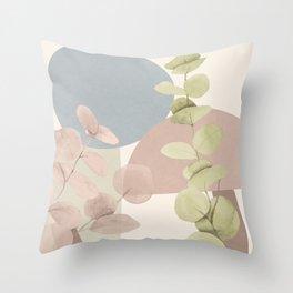 Elegant Shapes 17 Throw Pillow