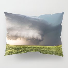 Leoti's Masterpiece - Incredible Storm in Western Kansas Pillow Sham