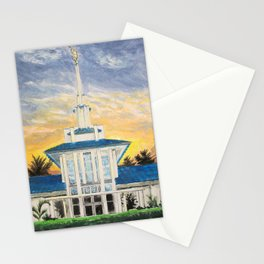 Papeete Tahiti LDS Temple Stationery Cards