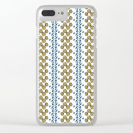 Pattern 124 Clear iPhone Case