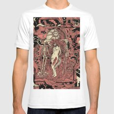 invitation LARGE Mens Fitted Tee White