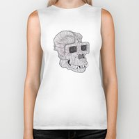 ape Biker Tanks featuring Ape by Camelo