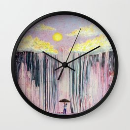The Pessimist Wall Clock