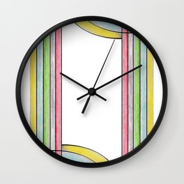 Draped Wall Clock