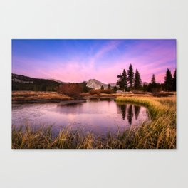 Tuolumne Meadows Canvas Print
