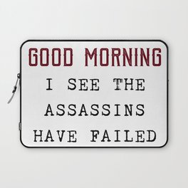 The Assassins Failed Laptop Sleeve