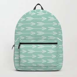 Green Arrows Backpack