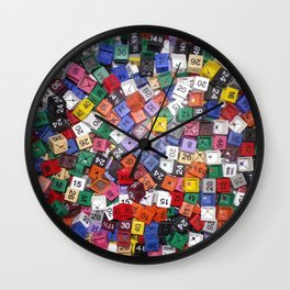 It is not the size of a person but the size of the heart that matters :) Wall Clock