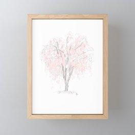 Cherry Blossom Sakura Matsuri Framed Mini Art Print