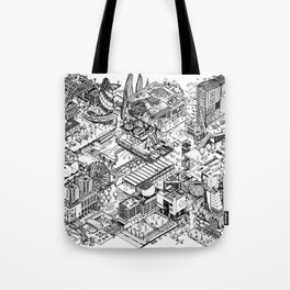 ARUP Fantasy Architecture Tote Bag