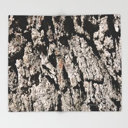 TEXTURES: Englemann Oak Bark Throw Blanket