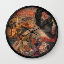 Edward Atkinson Hornel - The Balcony, Yokohama Wall Clock