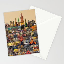 Copenhagen Facades Stationery Cards