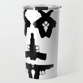 Pistol Face Travel Mug