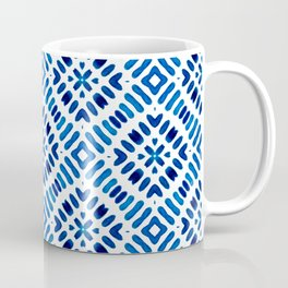 Shibori Watercolour no.7 Coffee Mug