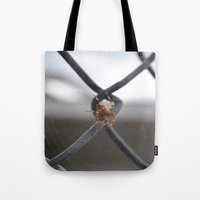 spider Tote Bags featuring Spider by Labartwurx
