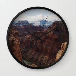 Marble Canyon Wall Clock