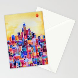 Eastern Summer Stationery Cards