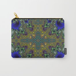Fractal Coat Of Arms Carry-All Pouch
