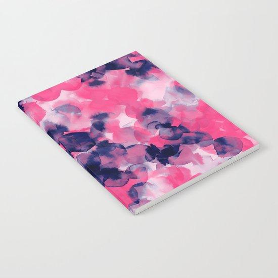 Filigree (Pink  & Indigo) Notebook