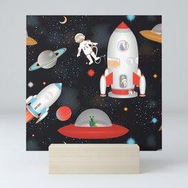 Spaceships Mini Art Print