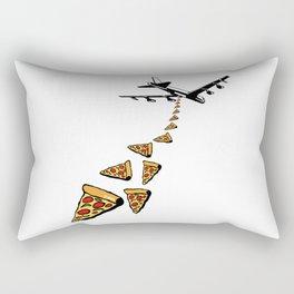 No war more pizza Rectangular Pillow