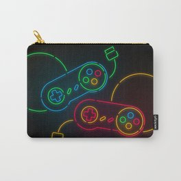 Neon Nostalgia Carry-All Pouch