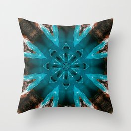 Coleção mandalas: Calma Throw Pillow