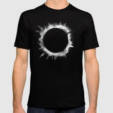 Eclipse 1 Black Mens Fitted Tee SMALL