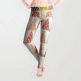 Whimsical Christmas Trees Leggings