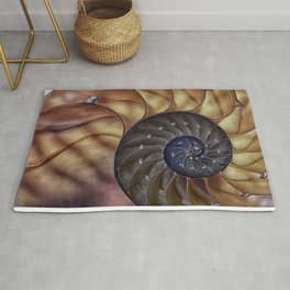 Macro Seashell Rug